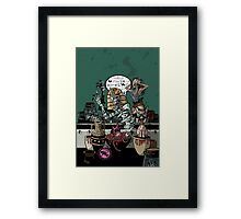 Tomb of the Cursing Mummy Framed Print
