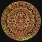Aztec color calendar  by rafo