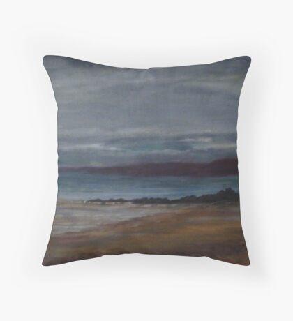 Bretagne Coast Throw Pillow