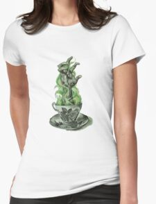 Cup of Joe Womens Fitted T-Shirt
