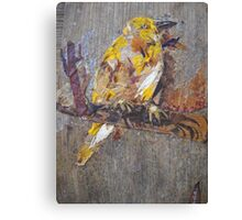 Tired Bird Canvas Print