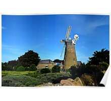 The Old Flour Mill Poster