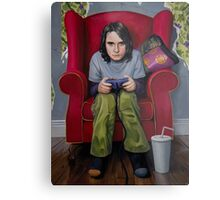 Controlling the Protagonists Metal Print