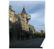 The Canongate Tolbooth, Edinburgh, Royal Mile Poster
