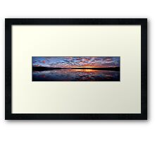 Magnificence - Narrabeen Lakes, Sydney Australia - The HDR Experience Framed Print