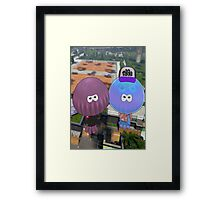 Are you Fresh? Without Words. Framed Print