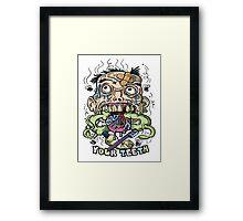 Dental Hygene Framed Print
