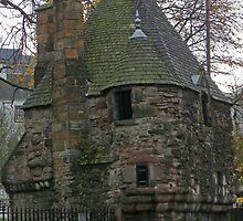 Queen Mary's Bath House, Holyrood, Edinburgh by Dawn (Paris) Gillies