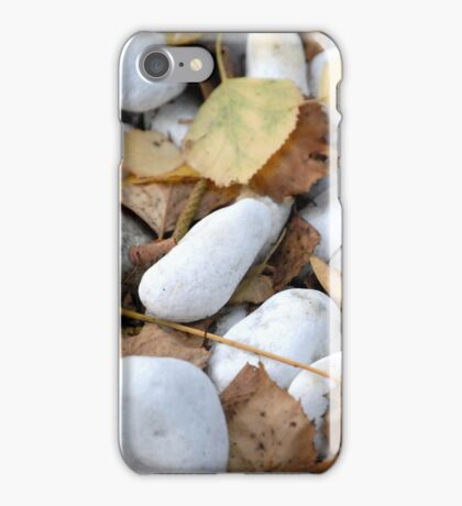 Stones & Leaves iPhone Case/Skin
