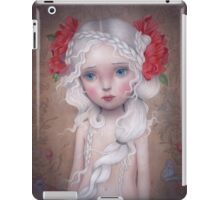 If I told you a flower bloomed in the dark iPad Case/Skin