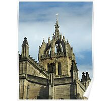 St Gile's Cathedral Crown Spire, Edinburgh Poster