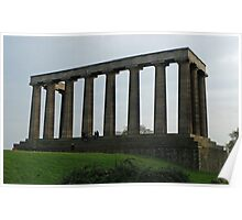 The National Monument, Calton Hill, Edinburgh Poster