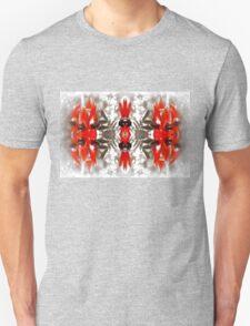 Sturt's Red Desert Pea Mono Unisex T-Shirt
