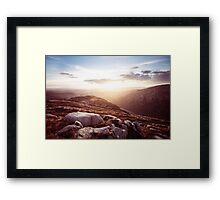 Barnesmore Framed Print