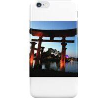 Epcot Japan iPhone Case/Skin