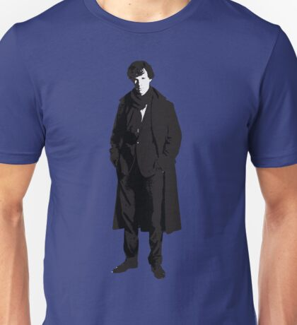 Sherlock Holmes, Consulting Detective Unisex T-Shirt