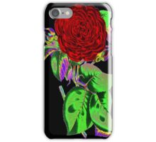 Neon Flower © iPhone Case/Skin