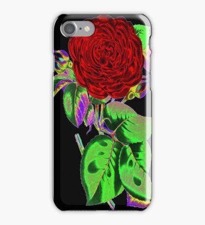 Neon Flower © iPhone Case/Skin