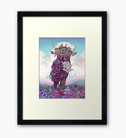 Journeying Spirit (Owl) Framed Print