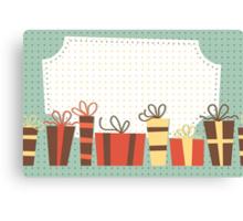 Holiday Card Canvas Print
