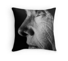 Noir Portrait 003 Throw Pillow