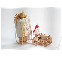 Christmas driver Poster