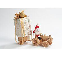Christmas driver Photographic Print