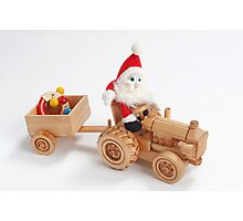 Christmas driver Photographic Print
