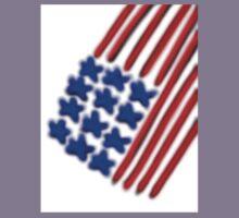 American Flag Kids Tee