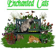 Enchanted Cats by LoneAngel
