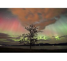 Auroras with multiple colors Photographic Print