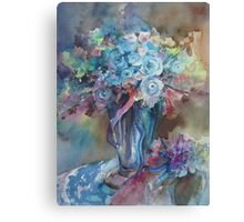Blue Mood Canvas Print