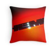 HEMI Logo - taken from 2010 Dodge Challenger R/T Throw Pillow