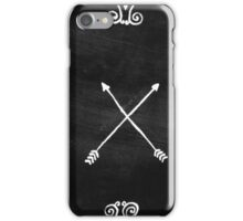 White arrows iPhone Case/Skin
