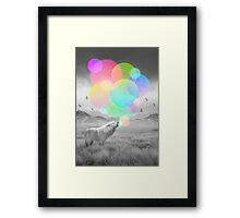 The Echoes of Silence Framed Print