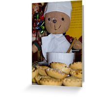 Baking day Greeting Card