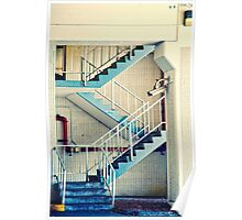 Abstract Stairway Poster