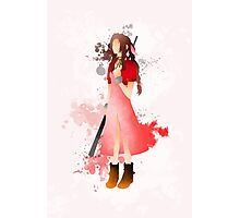 Final Fantasy 7: Aerith Gainsborough Giclee Art Print Photographic Print