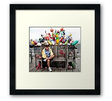 Fisherman's Bench Framed Print