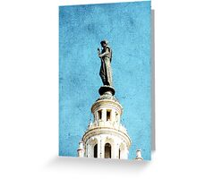Watching Over the Plaza Greeting Card