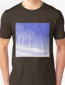 Woodland in Winter Scene T-Shirt