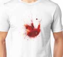 Splash Space Red Unisex T-Shirt