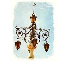 Plaza Light Photographic Print