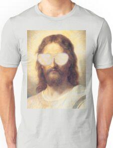 Cool Jesus Street Art Unisex T-Shirt