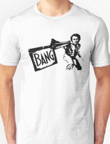 "Dirty Harry ""BANG!"" Street Art T-Shirt"