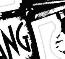"""Dirty Harry """"BANG!"""" Street Art Sticker"""