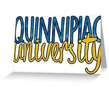 Quinnipiac University Greeting Card