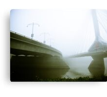 Foggy Waterfront 02 Canvas Print