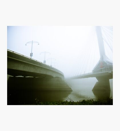 Foggy Waterfront 02 Photographic Print