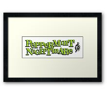 "The Mighty Boosh - ""Peppermint Nightmare"" Framed Print"